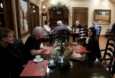 Dinner at the Inn on Friday night.