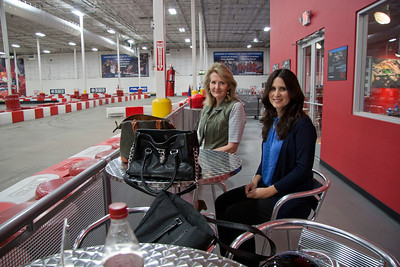 Jan & Janet at K1 Speed