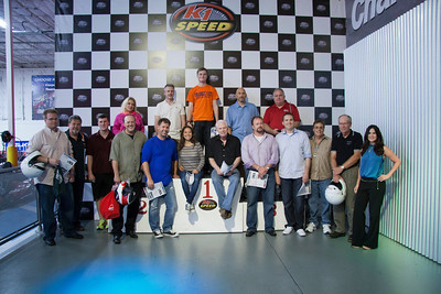 The group at K1 Speed