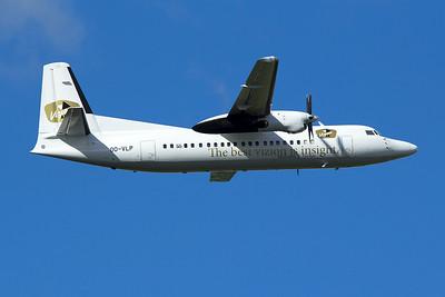 Vizion Air Fokker 50 OO-VLP 9-27-15