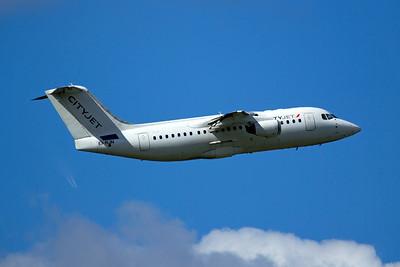 CityJet British Aerospace Avro RJ85 EI-RJN 9-27-15