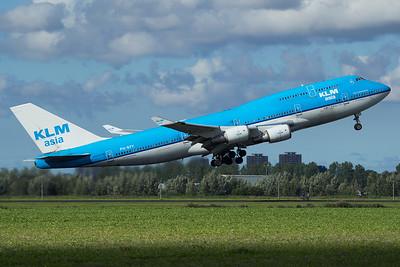 KLM Asia Boeing 747-406(M) PH-BFY 9-27-15