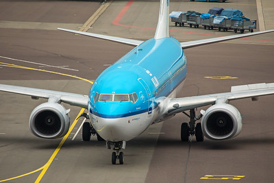KLM Royal Dutch Airlines Boeing 737-8K2 PH-BCE 10-25-17 2