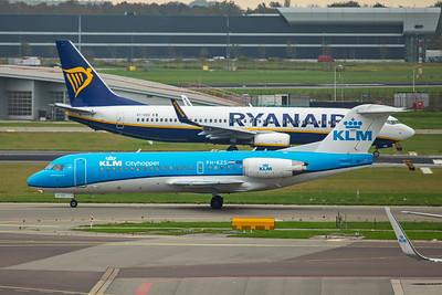 KLM Cityhopper Fokker F70 PH-KZS 10-25-17