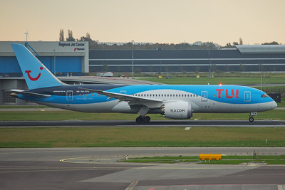 TUI Airlines Netherlands Boeing 787-8 PH-TFK 10-25-17