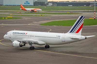 Air France Airbus A320-214 F-HBNB 10-25-17 3
