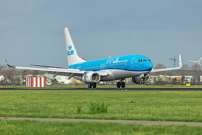 KLM Royal Dutch Airlines Boeing 737-8K2 PH-BCH 11-2-19