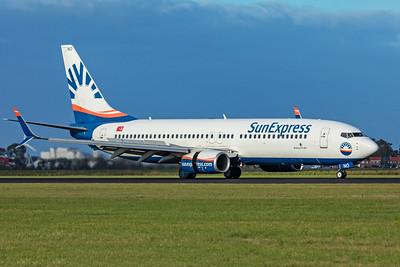 Sun Express Boeing 737-8HC TC-SNO 9-3-19