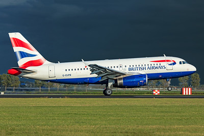 British Airways Airbus A319-131 G-EUPB 9-3-19
