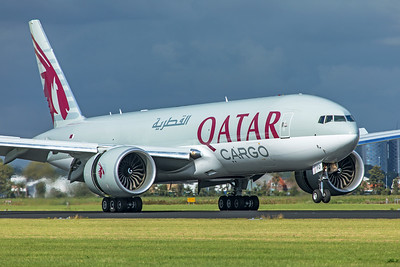 Qatar Airways Cargo Boeing 777-F A7-BFQ 9-3-19