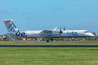 Flybe Bombardier DHC-8-402Q Dash 8 G-ECOD 11-2-19