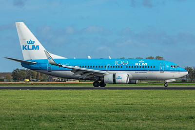 KLM Royal Dutch Airlines Boeing 737-7K2 PH-BGL 11-2-19