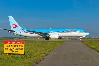 Neos Boeing 737-8 MAX EI-RZA 10-9-21