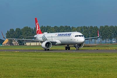 Turkish Airlines Airbus A321-271NX TC-LSJ 10-9-21