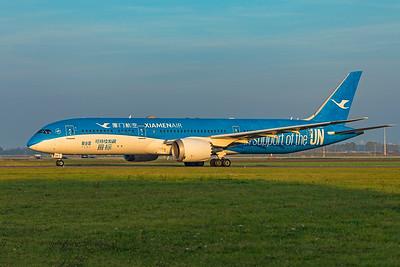 Xiamen Airlines Boeing 787-9 Dreamliner B-1356 10-9-21