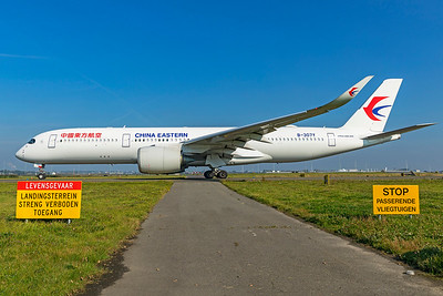 China Eastern Airlines Airbus A350-941 B-307Y 10-9-21