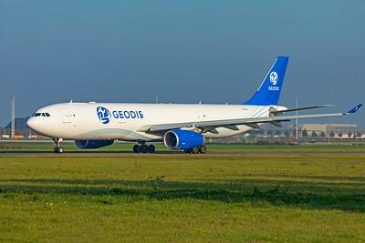 GEODIS Air Network Airbus A330-343(P2F) G-EODS 10-9-21