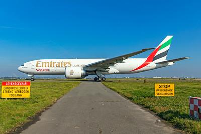 Emirates Boeing 777-F1H A6-EFO 10-9-21