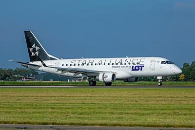 LOT - Polish Airlines Embraer ERJ-170-200LR SP-LIO 7-2-21