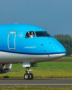 KLM Cityhopper Embraer ERJ-170-200STD PH-EXN 10-9-21 2