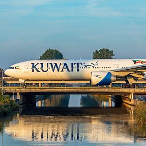 Kuwait Airways Boeing 777-369ER 9K-AOI 10-9-21