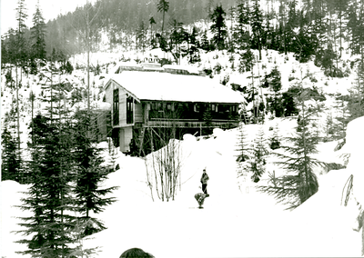 Varsity Outdoor Club Cabin (AMS - UBC Whistler Lodge), 1965