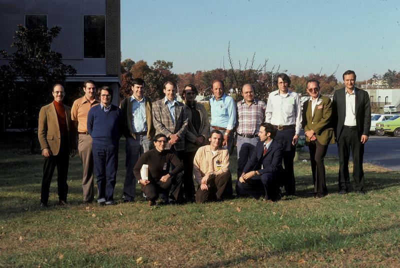Standing: Dick Daniels, ?,?,Steve Robinson, John Dubois, Tom Clark, Ron Dunbar, Karl Meinzer, Jan King, Dick Jansson, Perry Kline.<br /> Kneeling: ?,  Marty Davidoff, John Henry