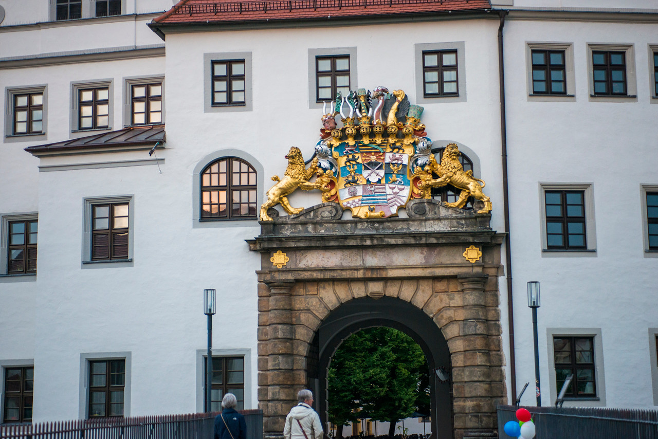 Torgau's Hartenfels Castle entry.