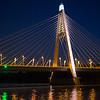 Megyeri Bridge, Budapest.