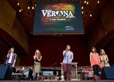 Patrick Budde, Lillie Cummings, Nate Trinrud, Mallory Moser, Madeline Weinstein.  Photo by www.justinbarbin.com.