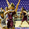 Jordy Sullivan, Montana #31, is defending against Weber's best player, Caitlin Anderson, #15. In this play, Caitlin was called for a foul. You can see why.Good job Jordan!