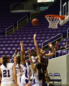 Katie Baker with a lay-up.