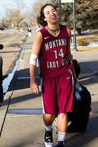 Sarah was fouled in the last few minutes of the game. She had to get quite a few stitches in her elbow, but NEVER let go of the basketball! She took one for the team. So glad she is alright and even smiling.