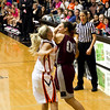 Alyssa getting fouled - this didn't get called