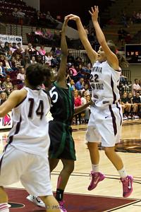 Katie Baker just shot the ball.