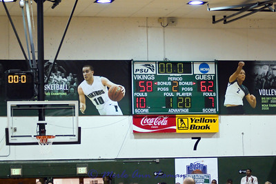 Portland State Vikings 58, Montana Lady Griz 62 points and Big Sky Champions in 2011.