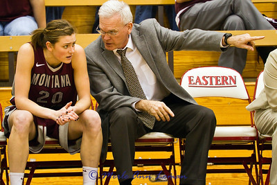 Jessa getting some instruction from coach Selvig