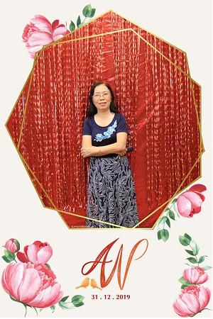 A&N wedding @ Sheraton Nha Trang | wedding instant print photo booth in Nha Trang | Chụp ảnh in hình lấy liền Tiệc cưới tại Nha Trang | Photobooth Nha Trang