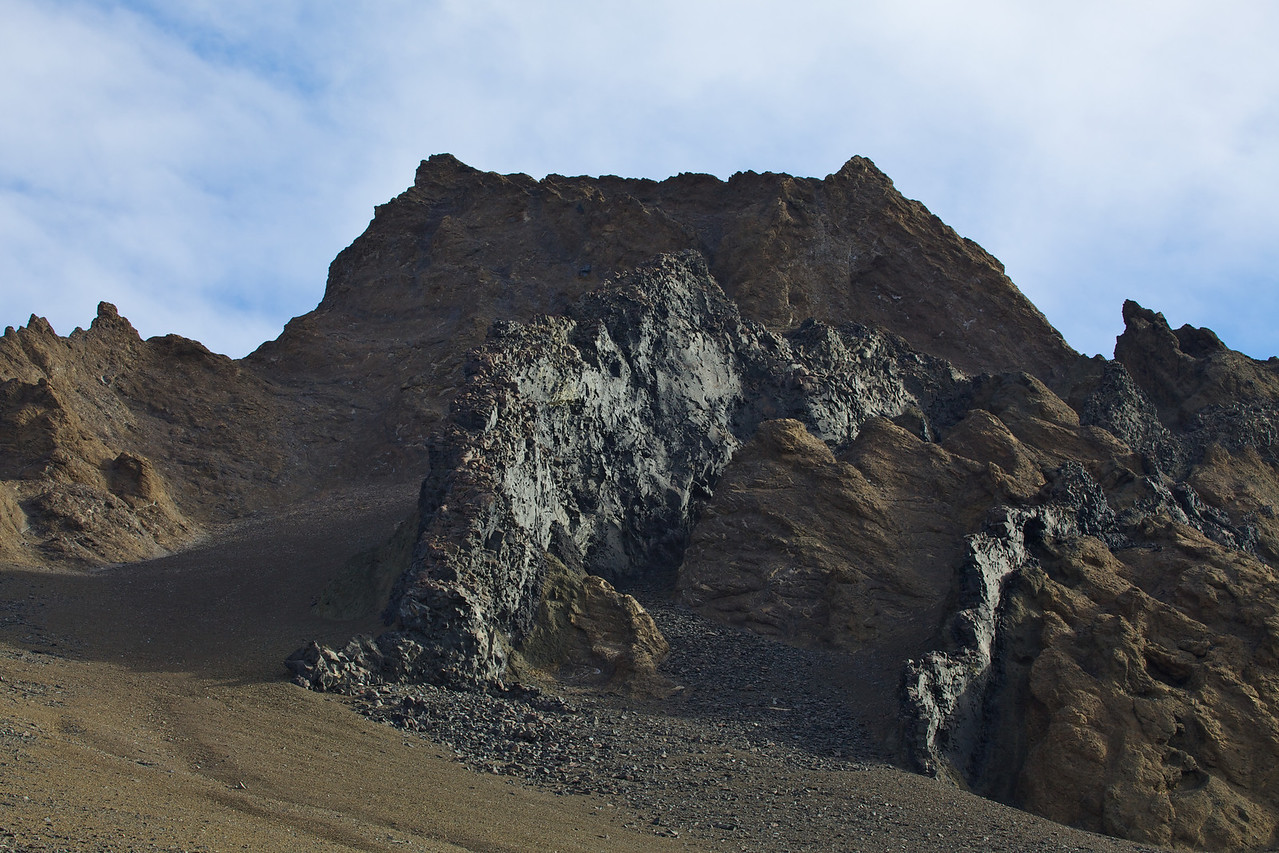 """Devil's Island gets its name from the """"two horns"""" that are on top of it's peak."""