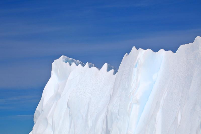This iceberg looks like a castle.