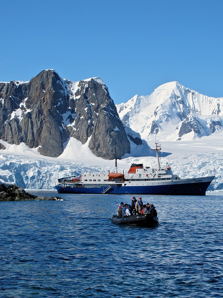 Petermann Island is a small island just off the west side of the Antarctic Peninsula of Antarctica