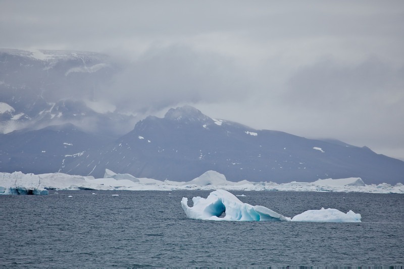 Mid-morning on Day 2 of our Antarctic Cruise, we approach Snow Hill Island on the east side of the Antarctic Peninsula.
