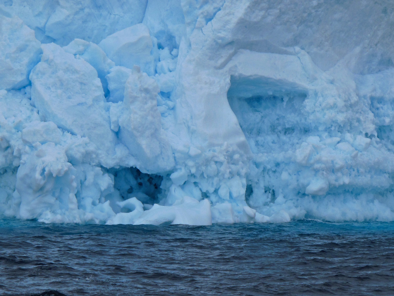 Leslies favorite iceberg.