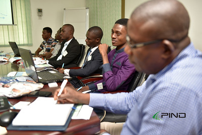 Participants at the session