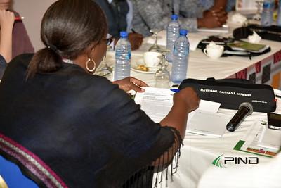 The national Cassava Summit Panelist Brainstorming session