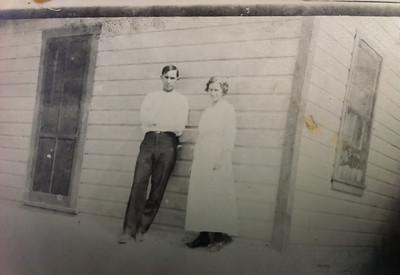 Aurthuar LeCoump  and Agnes Sedy LeCoump in  Nevada