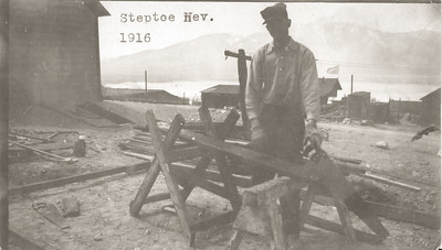 Aurthuar LeCoump in Steptoe Nevada 1916