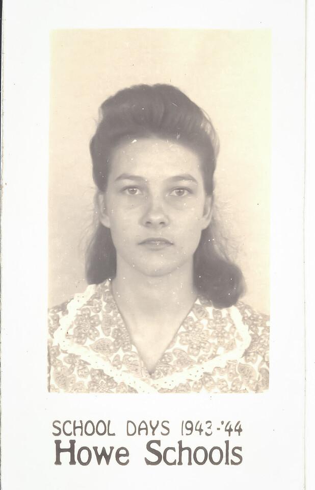 unknown Drury probably Gladys Drury