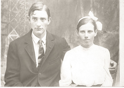 William Green Drury and Wife Ora Florence Radcliff