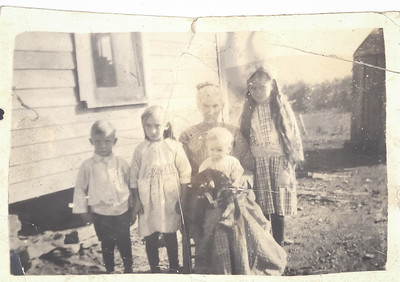 Margaret Jane LeCoump Drury and Drury children